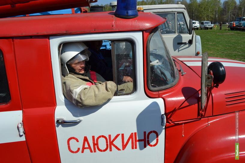 На Тамбовщине пенсионер погиб во время пожара