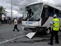 ДТП в Турции. Перевернулся автобус с 18 российскими туристами