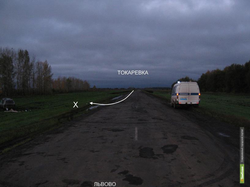 В Токаревском районе в ДТП погиб мужчина