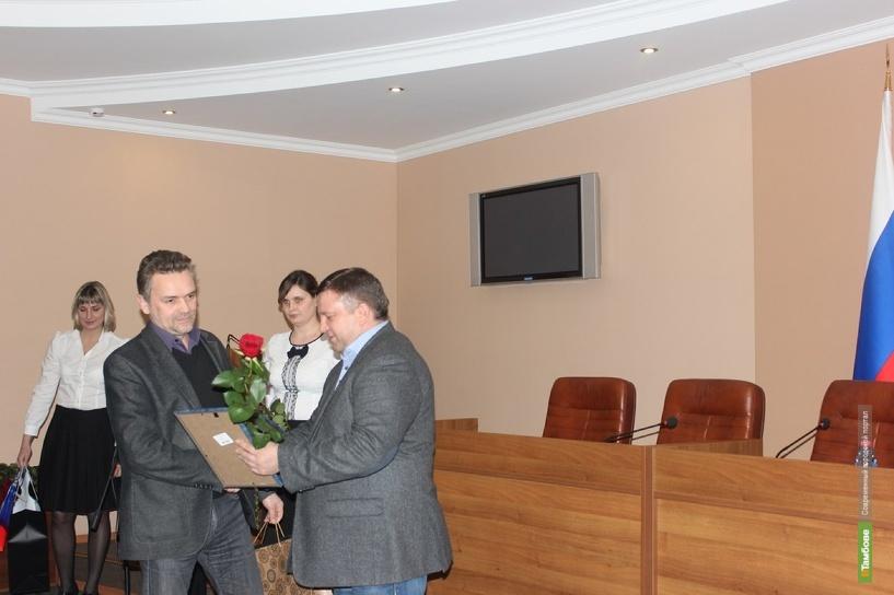 Портал ВТамбове получил награду от Главы города