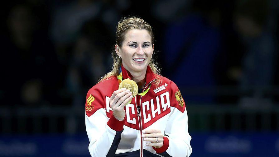 Рапиристка Дериглазова одолела бразильянку в1/16 финала Олимпиады
