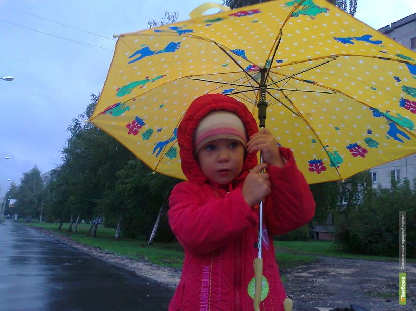 В Тамбове тепло сменили затяжные дожди