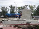 В сквере имени Вернадского «кипят» строительные работы