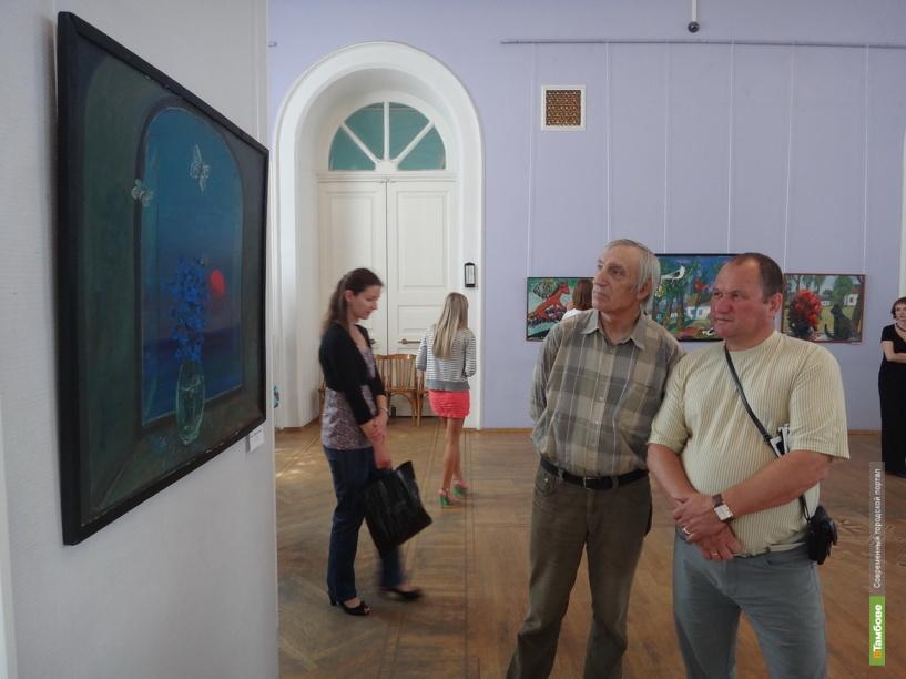 Тамбовчане могут посмотреть на полотна липецкого мастера