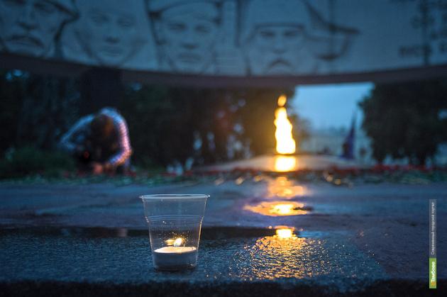 В память о блокадном Ленинграде в Тамбове зажгут свечи
