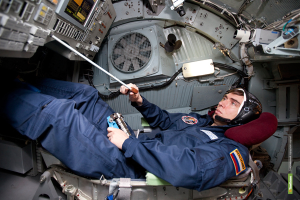 Сергей Волков передал Тамбову фотопривет из космоса