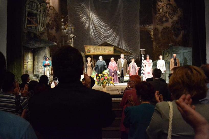 В тамбовском драмтеатре устроят «Приношение Мастеру»
