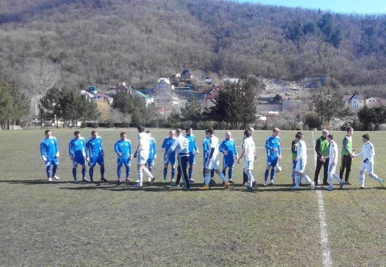 ФК «Тамбов» снова одержал победу на сборах в Туапсе