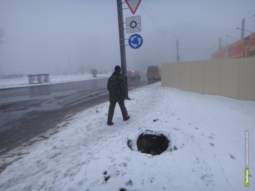 Пересекать тамбовчанам кольцо Рылеева-Магистральная стало ещё опаснее