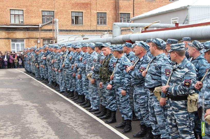Тамбовские полицейские вернулись с Кавказа после полугодовой командировки