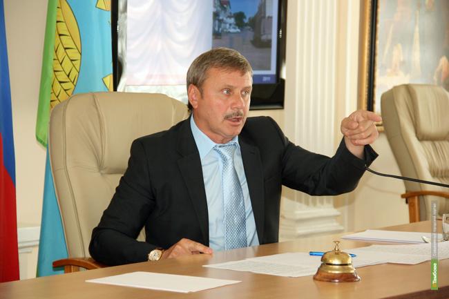Сити-менеджер Тамбова уволил главу «Спецдорсервиса»