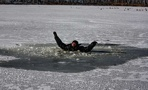 Открыл сезон катания на коньках: житель Рассказово провалился под лёд