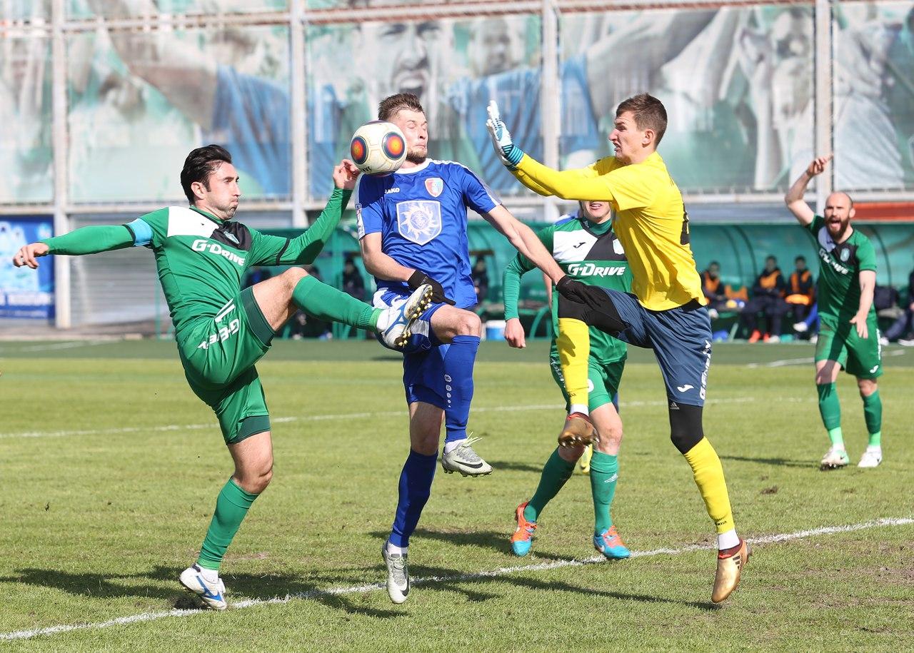 «Томь» и«Тамбов» разошлись миром в следующем матче главенства ФНЛ