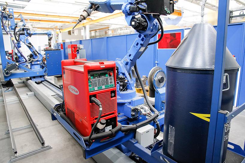 На заводе «СтальКонструкция» теперь трудятся роботы