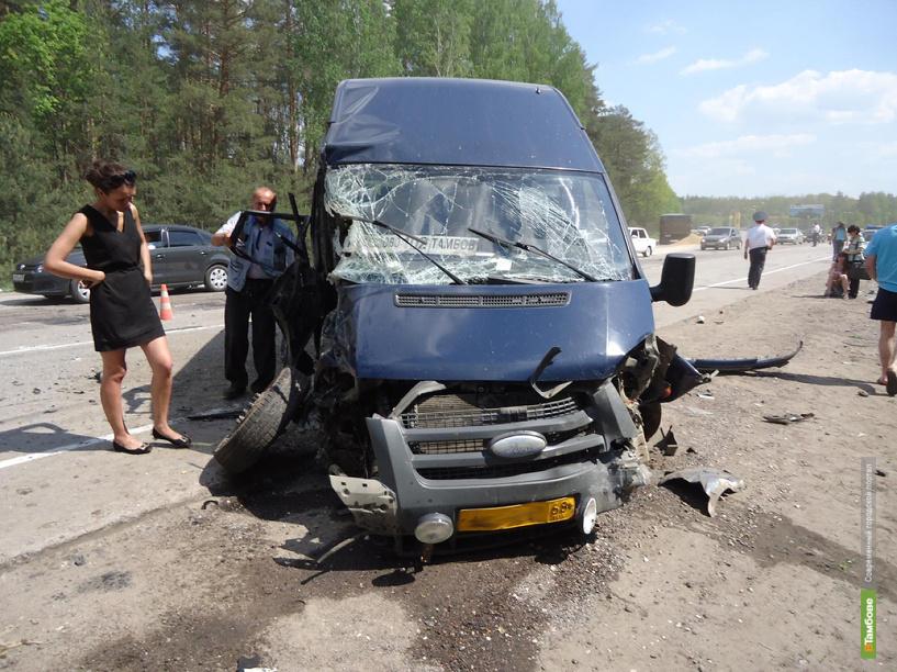 За неделю на дорогах Тамбовской области погиб один человек