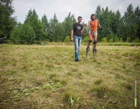 Тамбовчане смогут прогуляться по набережной на ходулях