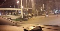 В центре Тамбова ВАЗ въехал в рейсовый автобус