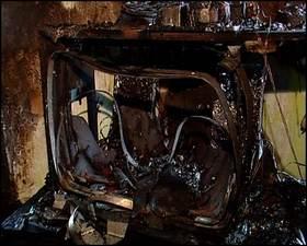 Огонь лишил тамбовчан телевизора