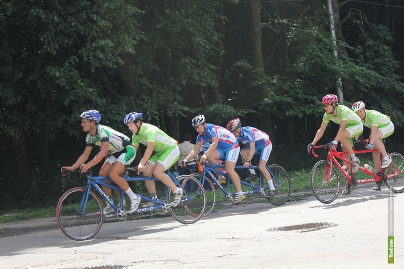 Тамбовские велосипедисты привезли 4 комплекта медалей