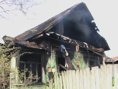 В Первомайском на месте пожара обнаружили тело пенсионерки