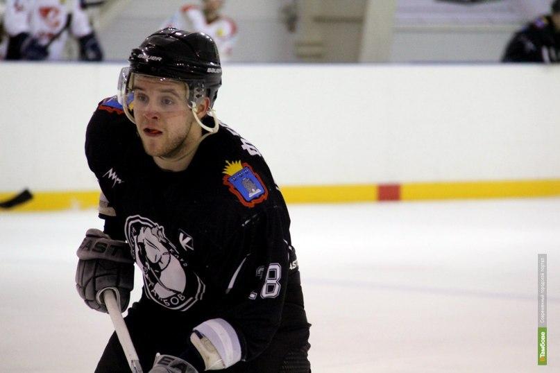 Капитан ХК «Тамбов» забросил 4 шайбы за игру
