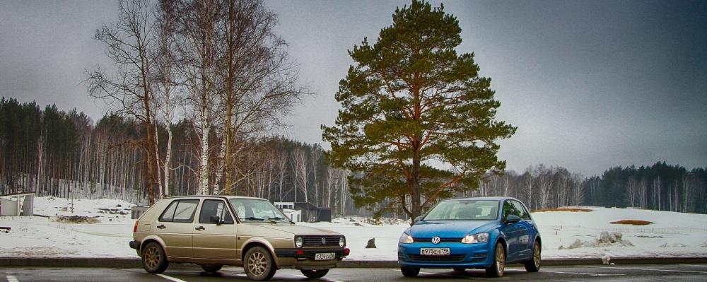 За Стеной: возвращаемся в 80-е за рулем VW Golf Mk2