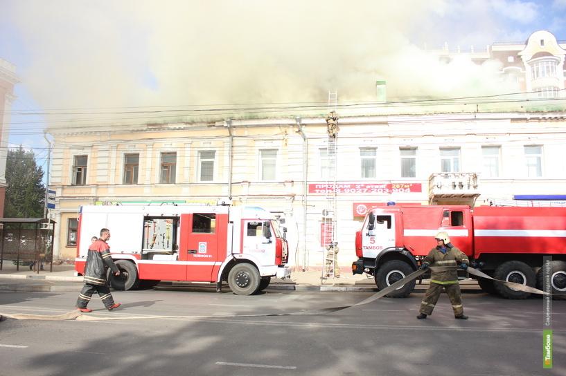 Крупный пожар на Советской тушили два часа