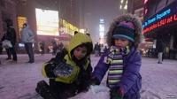 Режим ЧП введен в трех штатах США из-за сильнейших снегопадов