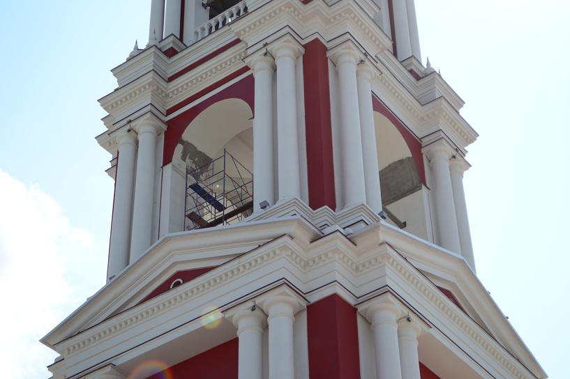На колокольню у Зои наносят «последние штрихи»