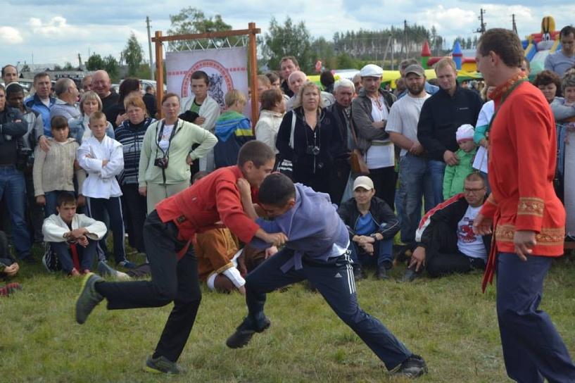 Состоялись русские игры – Атмановские кулачки