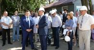 Врио губернатора проинспектировал строительство перинатального центра