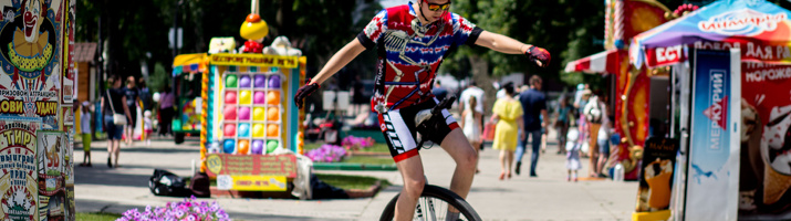 ВелосипедуДА: на одном колесе, или каково быть унициклистом