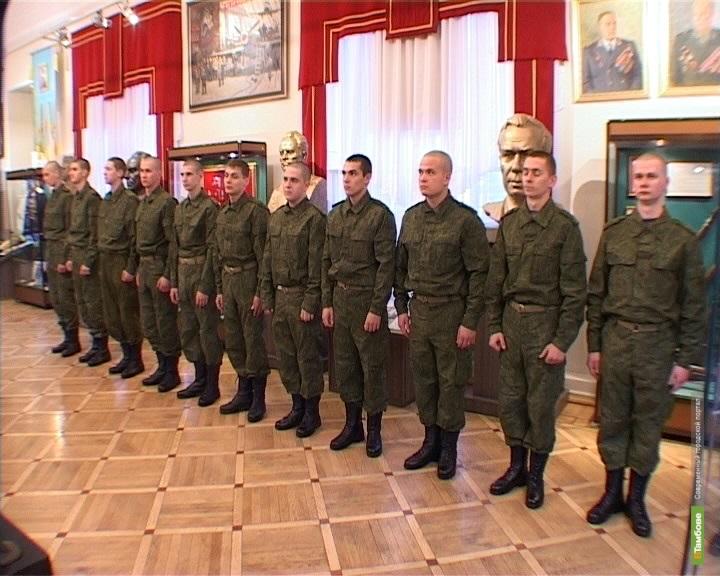 Тамбовских призывников проводили на Черное море