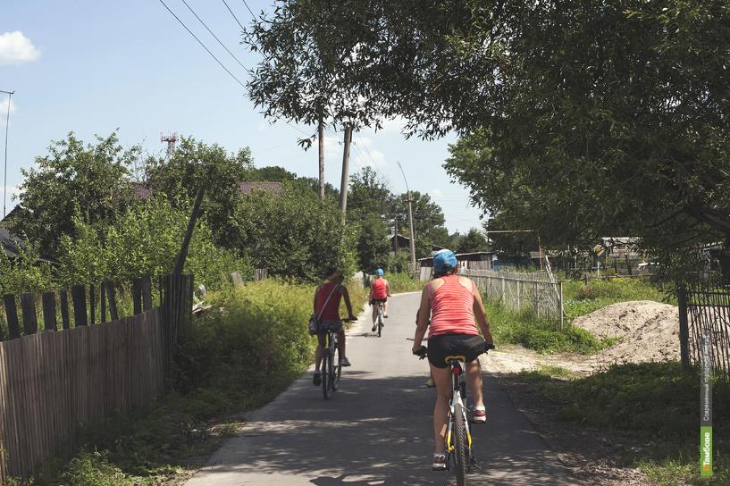 В Тамбове появится первая велодорожка