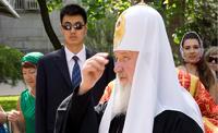 Патриарх Кирилл провел первую в истории литургию в Китае