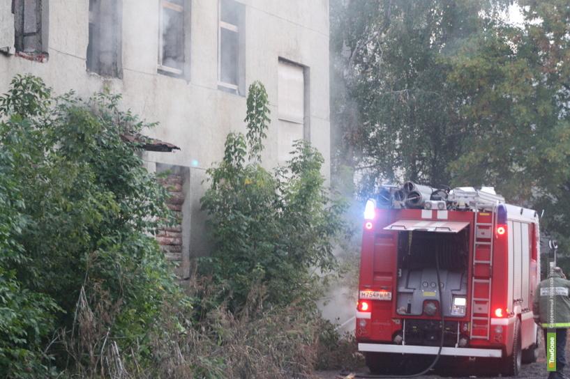 На Тамбовщине в огне погибли 3 человека