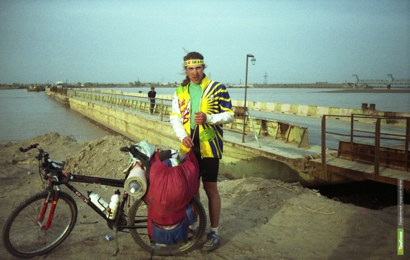 Александр Осипов уже преодолел по Европе более 400 километров