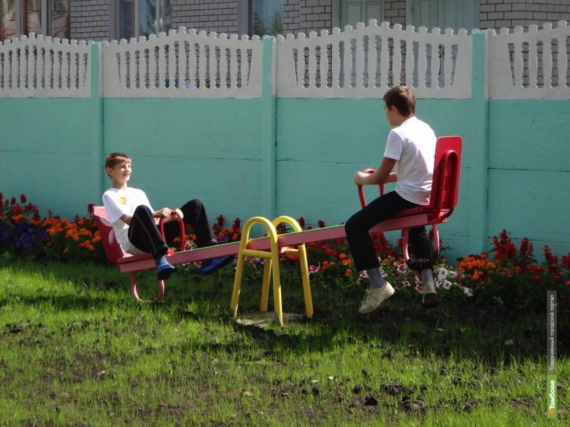 В Рассказовском районе построят детские площадки и облагородят парки