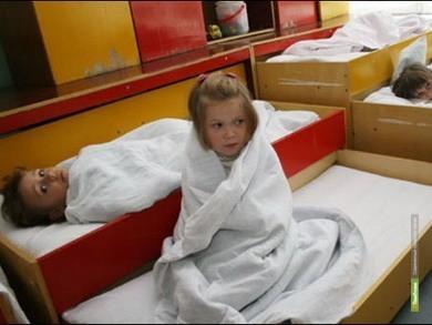 Маленькие тамбовчане мёрзнут в детских садах
