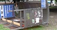 В Тамбове подросток крушил остановку общественного транспорта