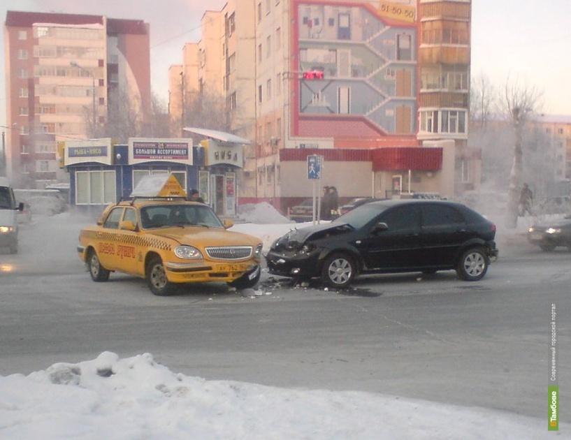 На тамбовских дорогах произошли 13 ДТП
