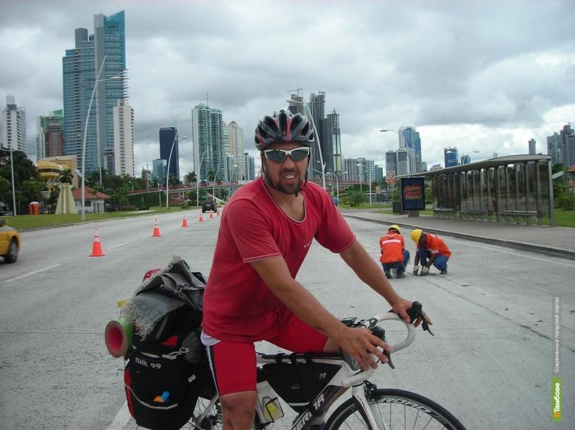 Велосипедист из Тамбова пересек экватор