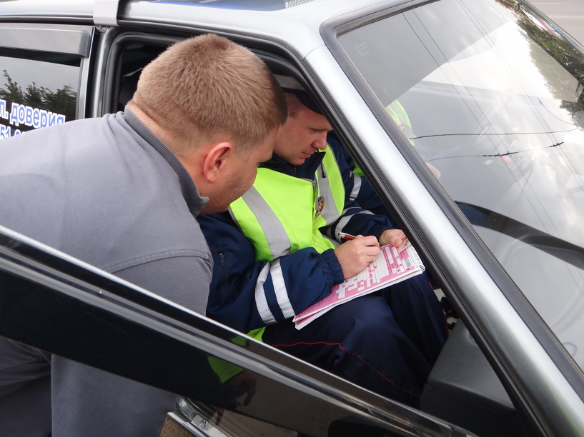 Тамбовские автоинспекторы оштрафовали 25 родителей-нарушителей