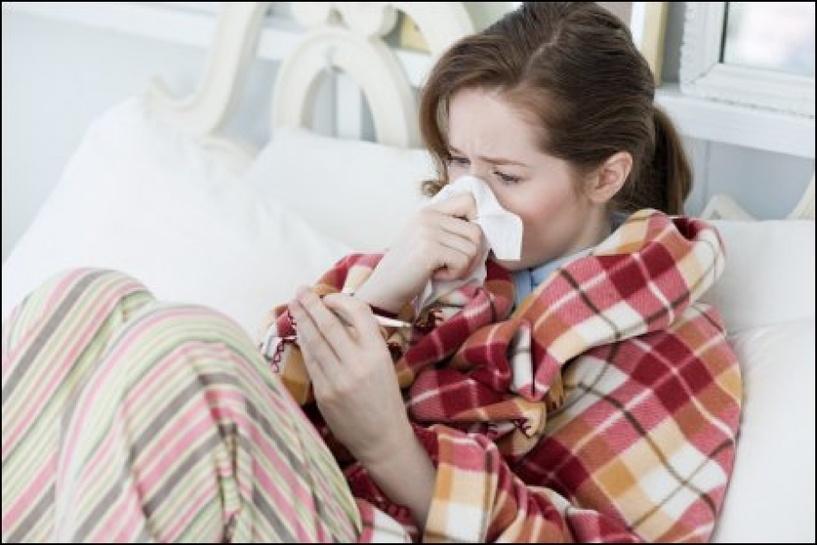 В Тамбовской области растёт число заболевших простудой