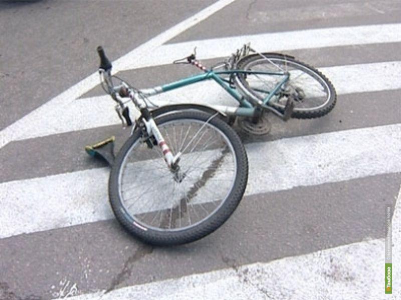 Тамбовский велосипедист угодил под колеса авто