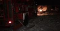 В Жердевке горел легковой автомобиль