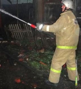 За прошлые сутки в Тамбовской области произошло два пожара