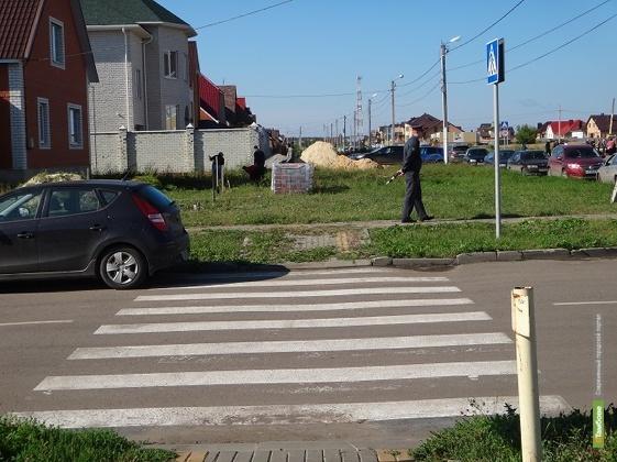 В Мичуринске власти плохо следят за дорогами рядом со школами