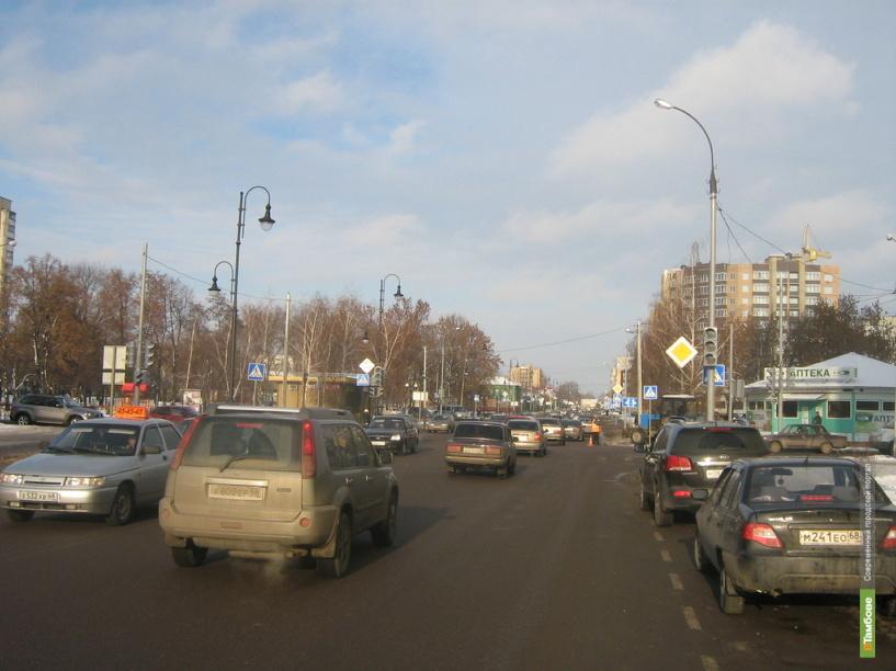 Автоинспекторы попросили тамбовские власти включить светофоры