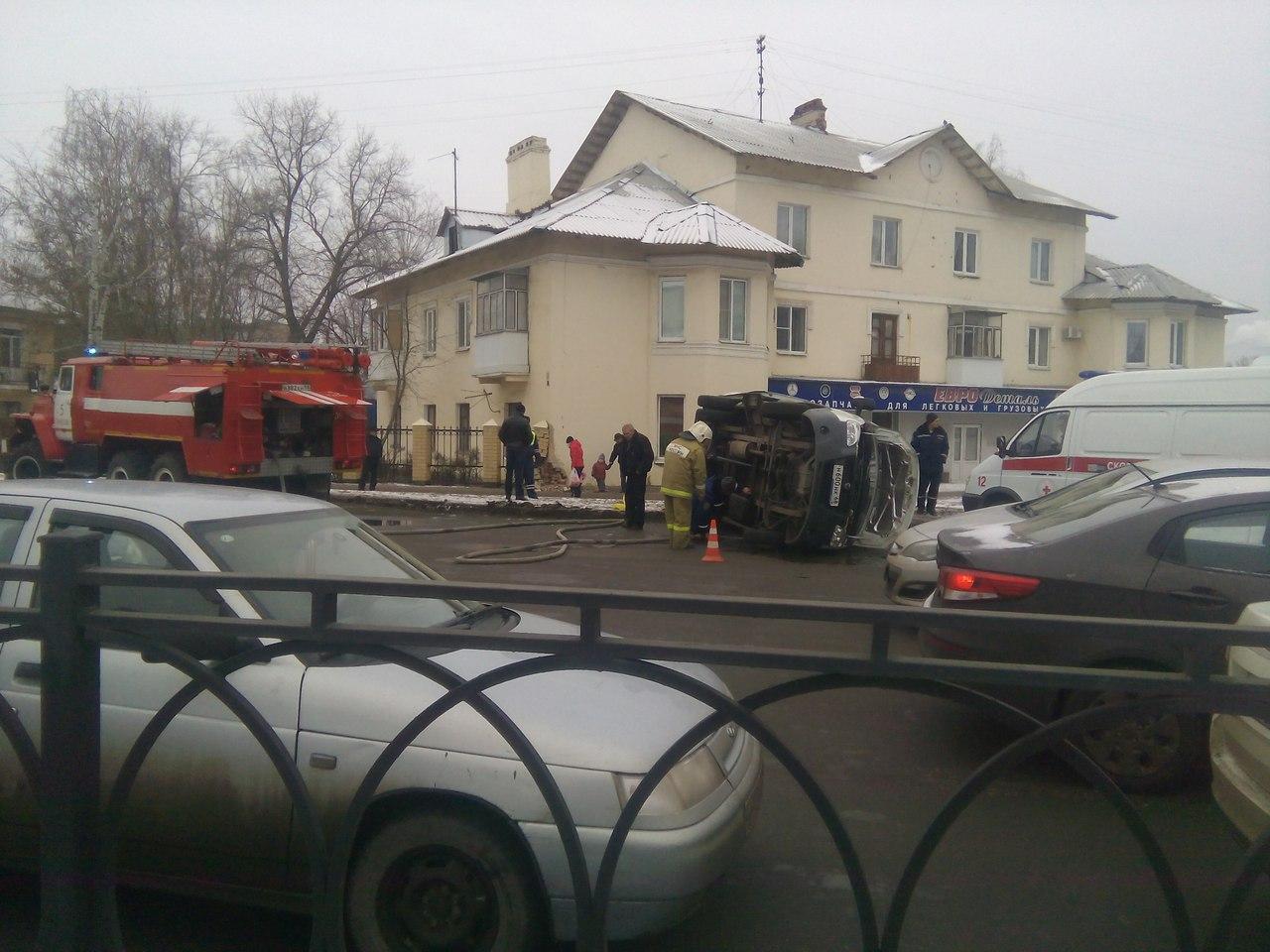 В трагедии сперевернувшейся «скорой» пострадали три человека